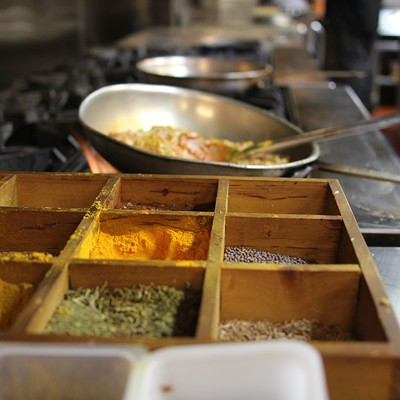 Making fresh Indian food at Marigold Maison