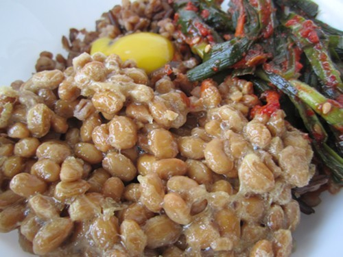 Embrace the natto