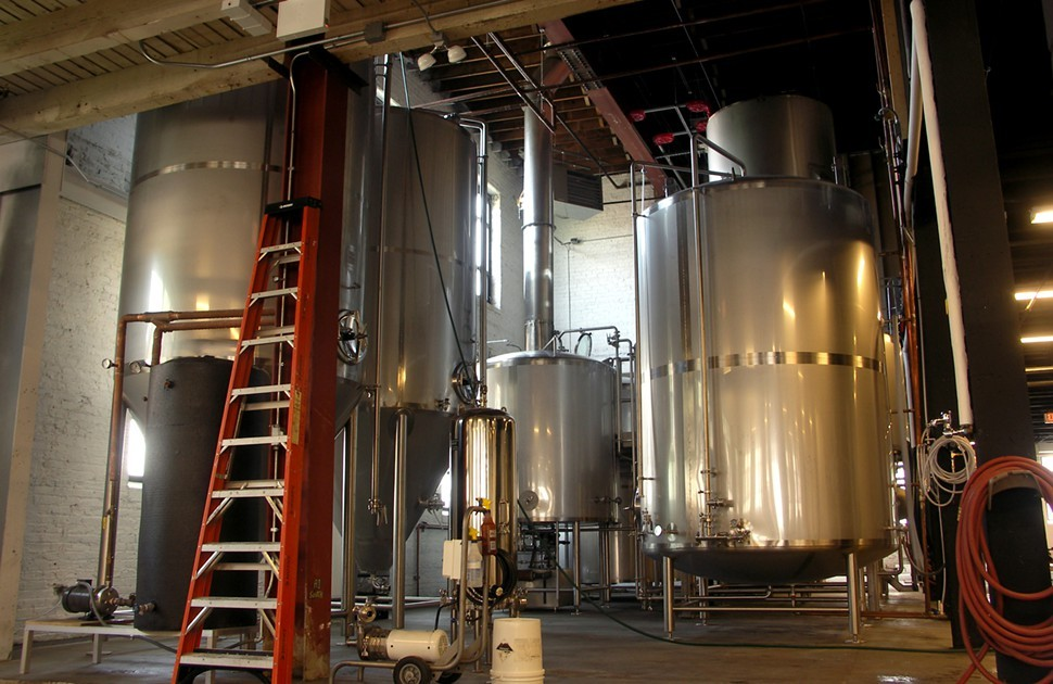 Empiricals 30-barrel Sprinkman brew house and twin 60-barrel fermenters can turn out 3,650 barrels of beer annually at full tilt.