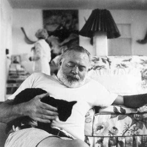 Ernest Hemingway: Lolcats progenitor?