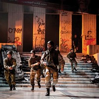 A haiku on Chicago Shakespeare Theater's updated and heavily armed <i>Julius Caesar</i>