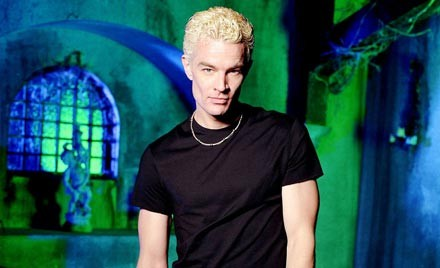 Ex-Buffyer James Marsters appears at the convention
