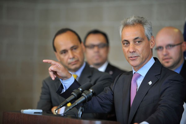 Expect Mayor Rahm Emanuel to try attaching himself to the hip of Congressman Luis Gutierrez as he searches for support among Hispanic voters.
