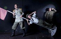 Exploding with laughter at <i>Guerra: A Clown Play</i>
