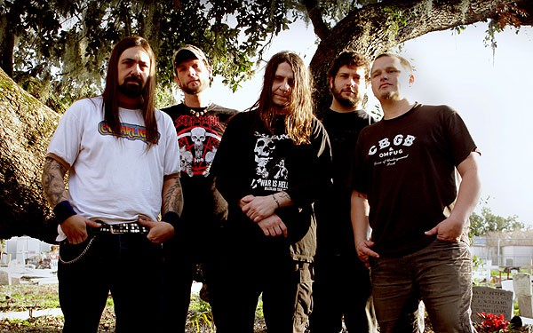 Eyehategod: Jimmy Bower, Brian Patton, Mike IX Williams, Gary Mader, Joey LaCaze