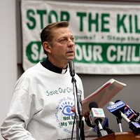 Father Pfleger: end the pot possession busts!