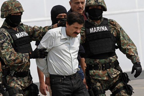 Federal authorities say Alfredo Vasquez-Hernandez was a coordinator for the Sinaloa cartel and its former leader, El Chapo Guzman, who was captured in February. Vasquez-Hernandez denies it.