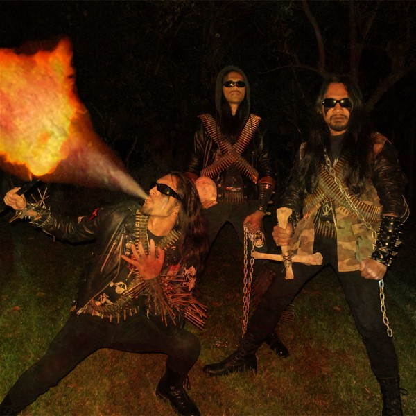 Filipino black-metal band Deiphago