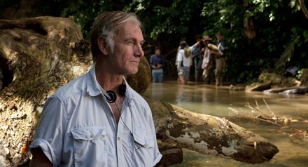Filmmaker John Sayles reads at the Festival.