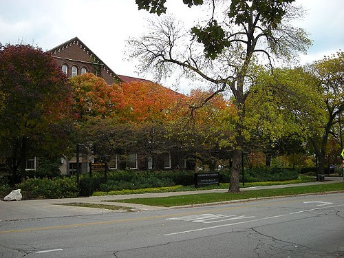 Fisk Hall, where the interns journalists are made.
