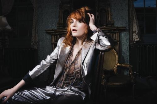 Florence Welch of Florence & the Machine