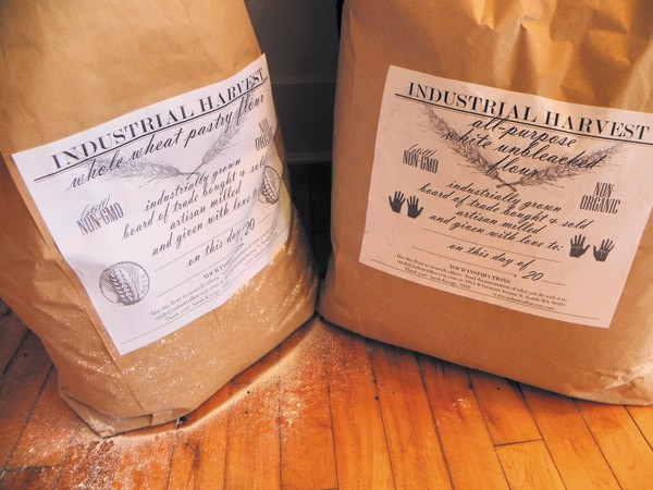 Flour in Kavage's Industrial Harvest packaging