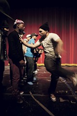 Dance battles at the Footworkers/Juke DJs Awards at the Portage Theater - JOHN STURDY