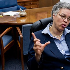 For Preckwinkle, Rewards Are Hard to Find