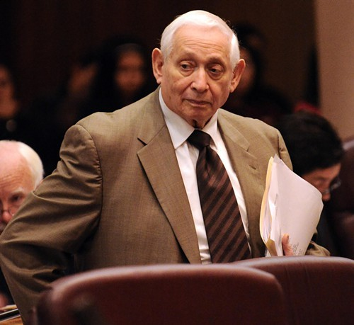 Former 50th Ward alderman Bernard Stone, who died Monday at age 87.