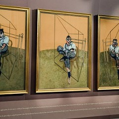 """Francis Bacon's """"Three Studies of Lucian Freud-1969"""": Now worth $142.4 million"""