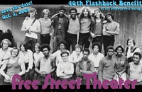 "Free Street Theater offers 40th-anniversary ""Flashback"""