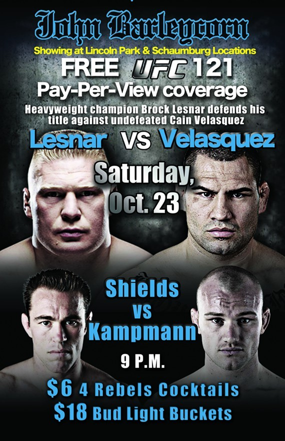 Free UFC 121 Pay-Per-View Cove...