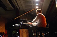 French pianist Frédéric Blondy sneaks into town