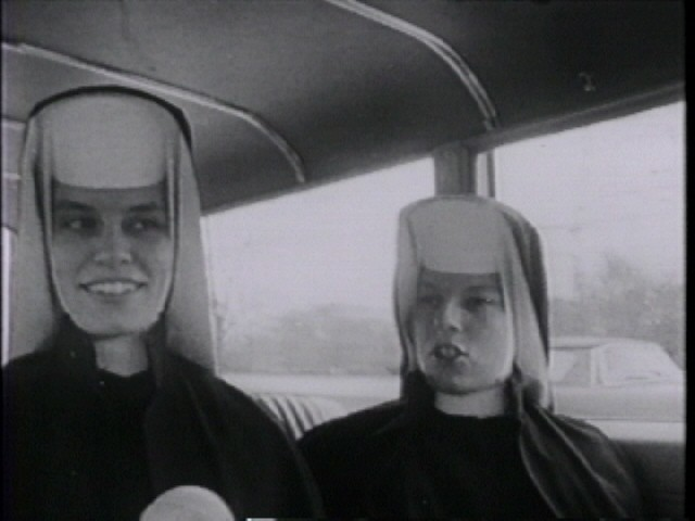 From Kartemquins Inquiring Nuns (1969), inspired by Rouchs Chronicle of a Summer