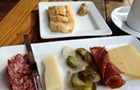 Gaslight Coffee Roasters: coffee, meat, cheese, and stuffed animals