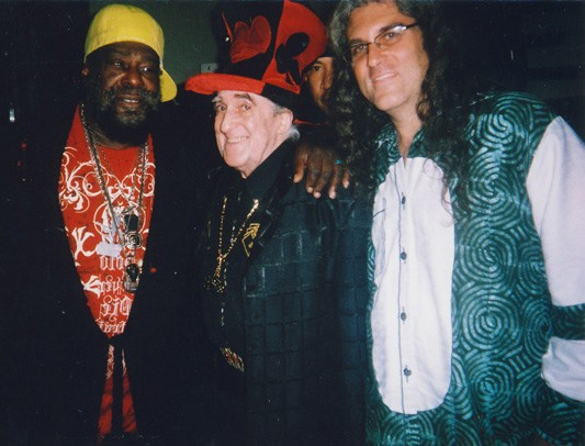George Clinton, Perry Kanlan, K-Rek (hidden in back), Jake Austen