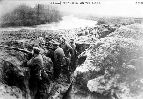 German trench