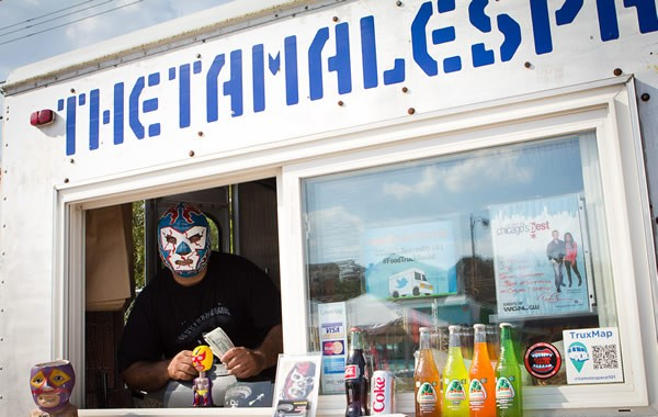 Get some face time with this guy at the Pilsen Food Truck Social - ROBERT ERVING POTTER III