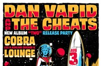 Gig poster of the week: Dan Vapid goes to the moon