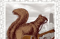 Gig poster of the week: Gettin' squirrelly with Jeff Tweedy