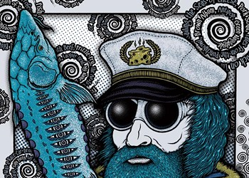 Gig poster of the week: Gone fishing on the seas of cheese with Primus