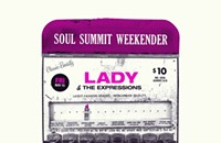 Gig poster of the week: Lady in the tapedeck