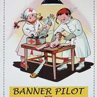 Gig poster of the week: Playing doctor with Banner Pilot