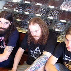 Gigan in what's almost certainly the least metal promo photo of 2011