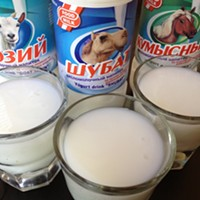 Take a Sip: imitation fermented mare and camel milk?