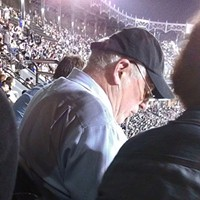 Watching the White Sox-Cubs game with Governor Quinn