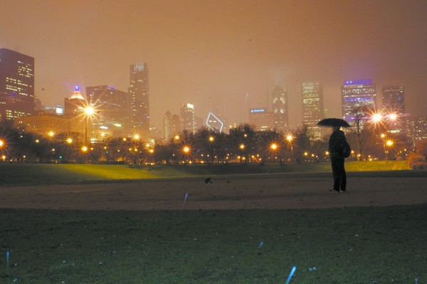 Grant Park looks a lot different this time around.