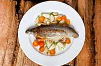 Simple yet exquisite seasonal cuisine at Nightwood and Browntrout
