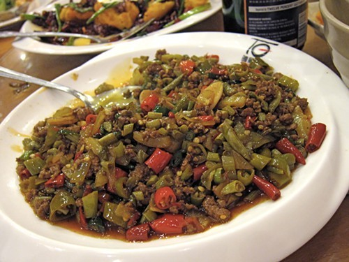 Ground Pork with Sour Pickle