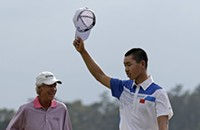 Great first round for Guan Tianlang, youngest player in Masters history