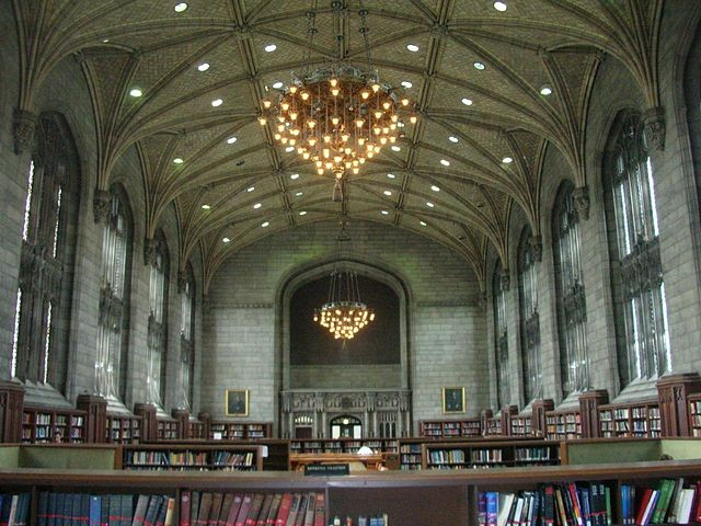 Harper Library, University of Chicago