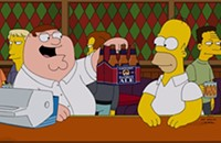 <i>Family Guy/Simpsons</i> crossover is a TV 'd'oh!n't'