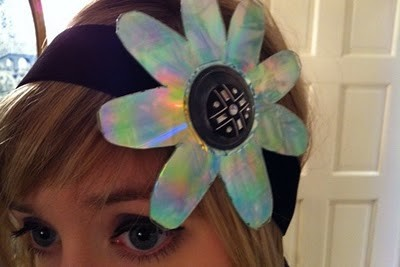 Headband by Gabrielle Zwick, one of the vendors at the Vintage Heaven sale this weekend.