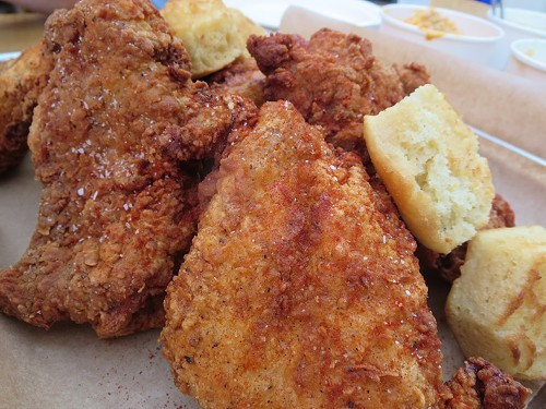 how to make fried butter chicken
