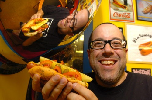 Hot Dougs comes alive at Soup and Bread.