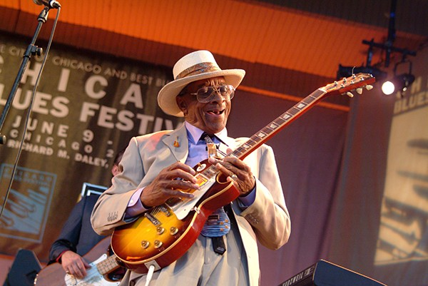 Hubert Sumlin performing at a previous Blues Fest - JAMES FRAHER