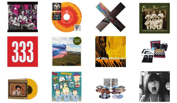 [image of Record Store Day releases]