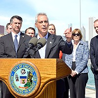 In claiming a balanced budget, what is Rahm smoking?