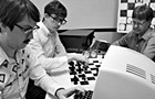 In <i>Computer Chess</i>, the king's game finds its jester