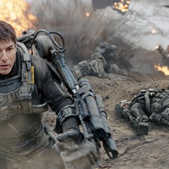 In Edge of Tomorrow, Tom Cruise does the time warp again (and again and again)
